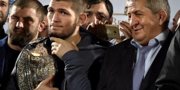 Nurmagomedov líder de los pesos ligeros de la UFC