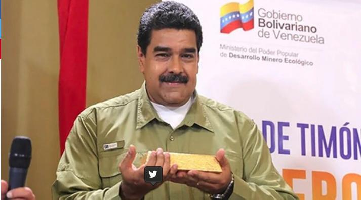 EE.UU. acusó a Maduro de exportar oro ilegalmente a Turquía