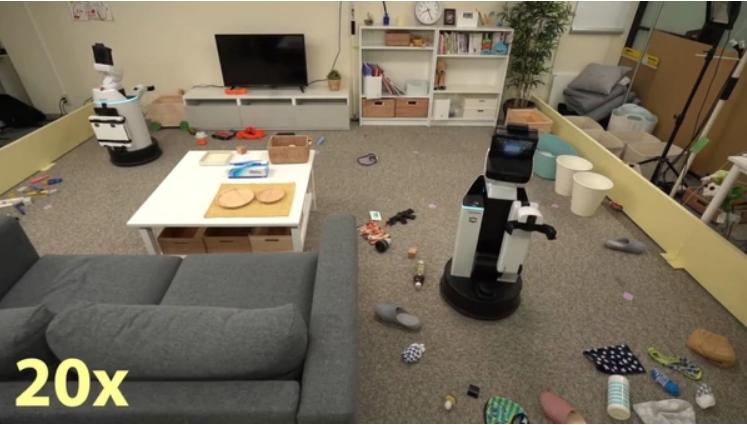 Crearon un robot que ordena el hogar