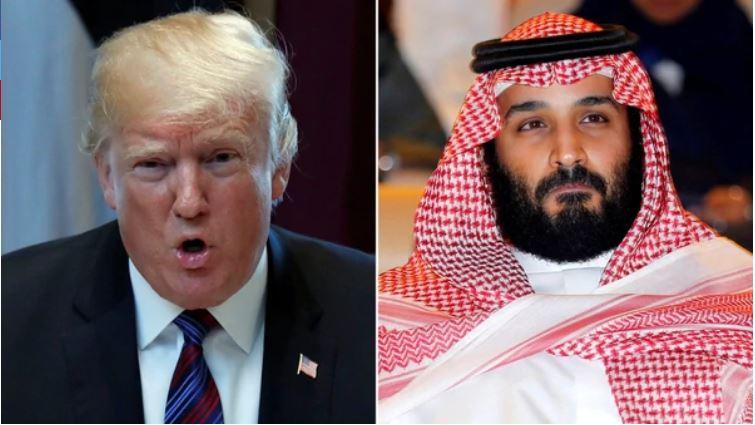 Trump apuntó al príncipe saudita Salman por el crimen de Khashoggi