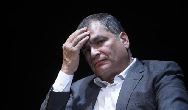 Rafael Correa, en busca de asilo político en Bélgica