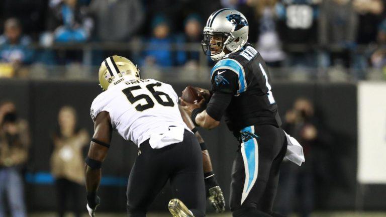 Panthers anota en rara conversión defensiva