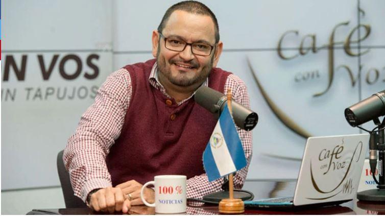 Periodista Luis Galeano, abandona Nicaragua