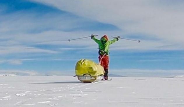El primer hombre que cruzó a pie la Antártida
