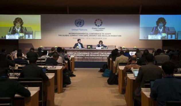 Se aprobó el Pacto Mundial Migratorio de la ONU