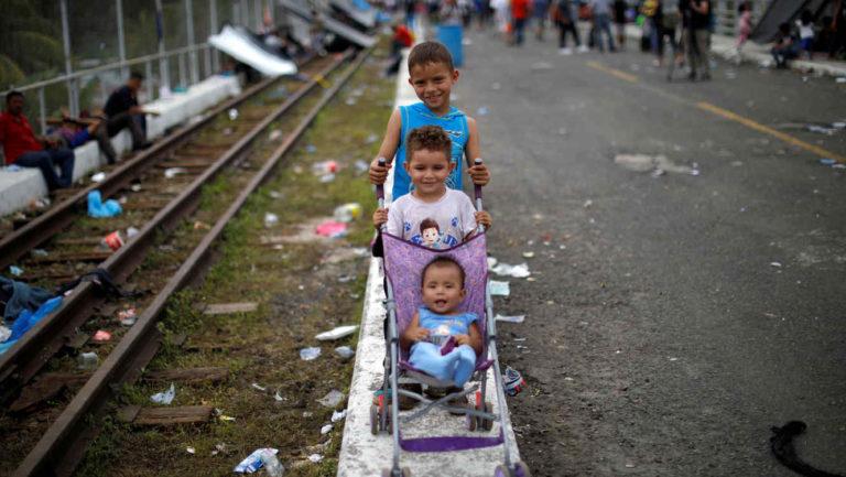 Patrocinadores de niños migrantes no serán arrestados