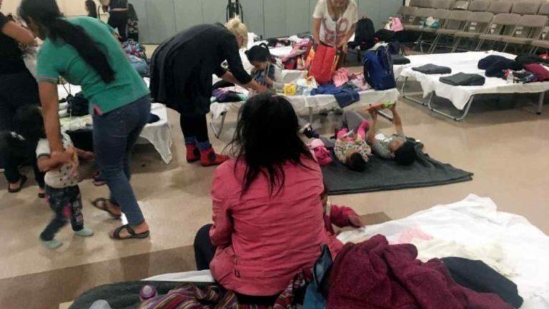 Escasez de suministros en albergues de migrantes