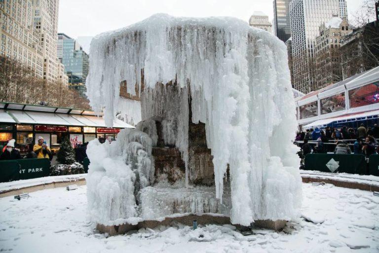 Frío mortal en el Medio Oeste y Noreste