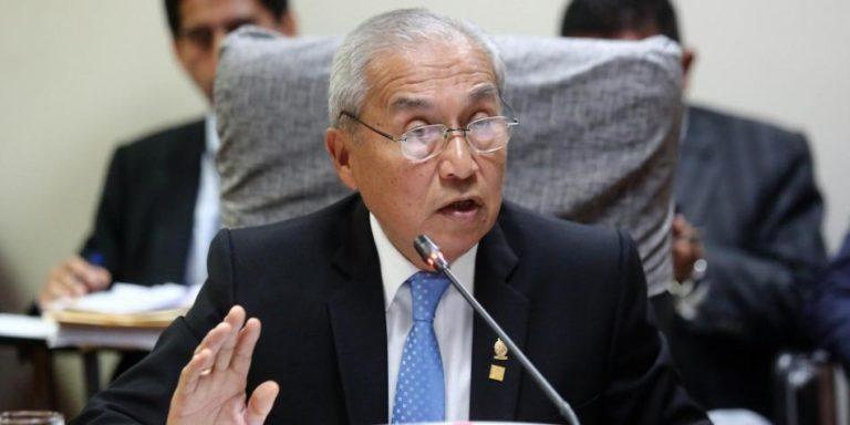 Suspendido fiscal general de Perú