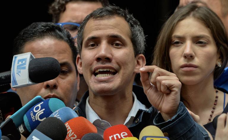 """Guaidó: """"Lo mejor para Rusia y China es un cambio de gobierno en Venezuela"""""""