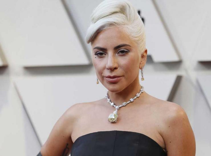 Gaga usó collar de US$ 30 millones