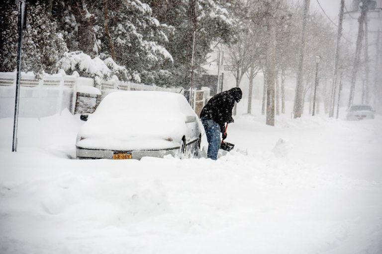 75 millones de personas en alerta por tormenta invernal