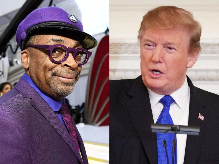 Trump acusa a Spike Leede racismo