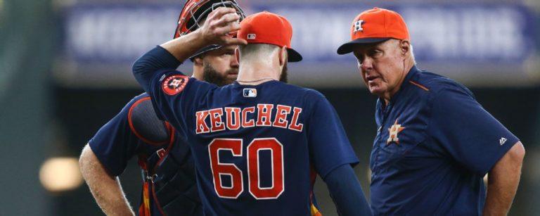 Los Astros extrañarán a Keuchel y González