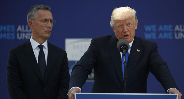 Trump recibirá al secretario general de la OTAN