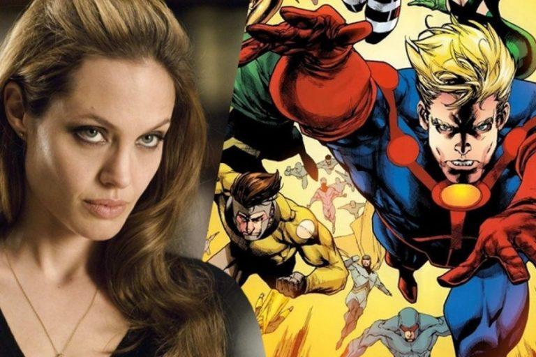 Angelina Jolie en negociaciones con Marvel Estudios