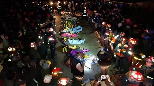 Guatemala: 18 muertos tras ser arrollados por un camión