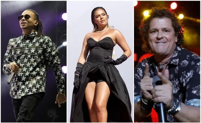 Ozuna, Carlos Vives y  Karol G en los Billboard