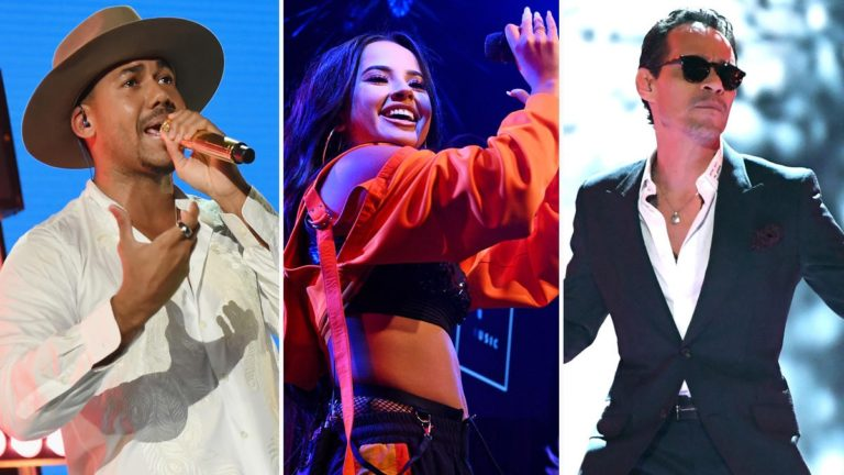 Becky G, Marck Anthony y Romeo cantarán en Latin Billboards