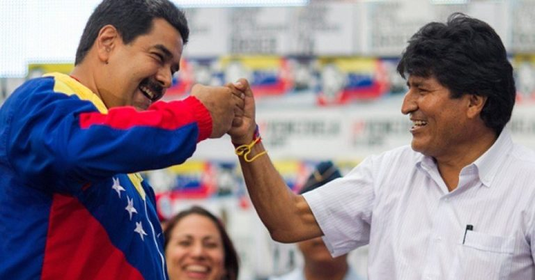 """Evo Morales calificó a presidente Guaidó como un """"virrey"""""""