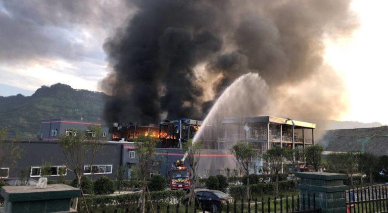 China: 6 muertos y 30 heridos en una explosión