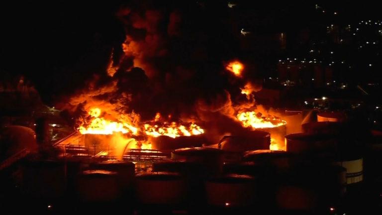 Extinguen incendio en Petroquímica de Texas