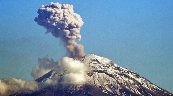 México en alerta tras explosión del Popocatépelt