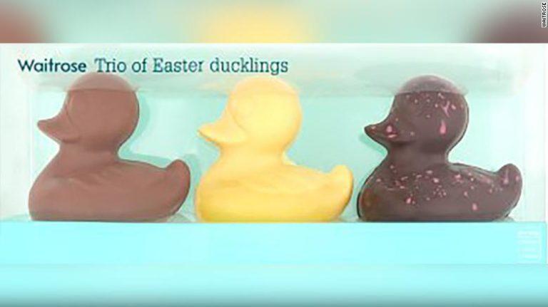 Tienda retira patitos de chocolate por acusaciones de racismo