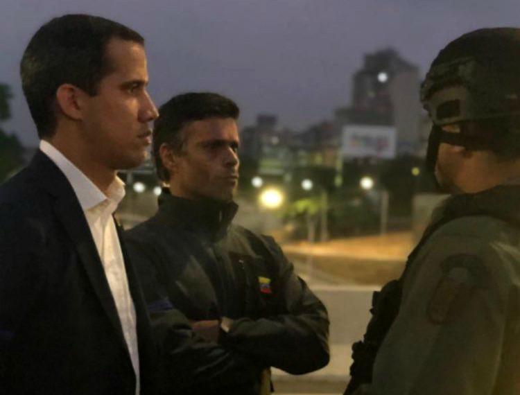 """Juan Guaidó activa """"fase final"""" de la Operación Libertad y dice """"hoy se vence el miedo"""""""