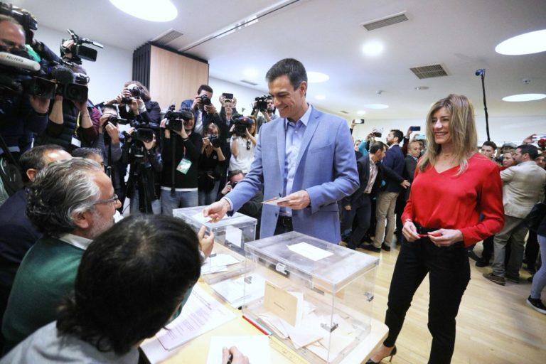 PSOE se impone, en España, como el partido más votado