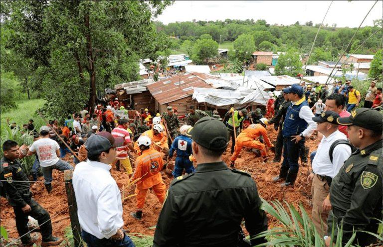 ¡Alerta Roja! Lluvias afectan nueve municipios de Colombia