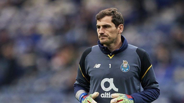 """Un """"infarto agudo"""" lleva a Iker Casillas al hospital"""