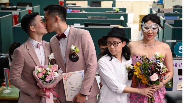 Taiwán registró los primeros matrimonios homosexuales