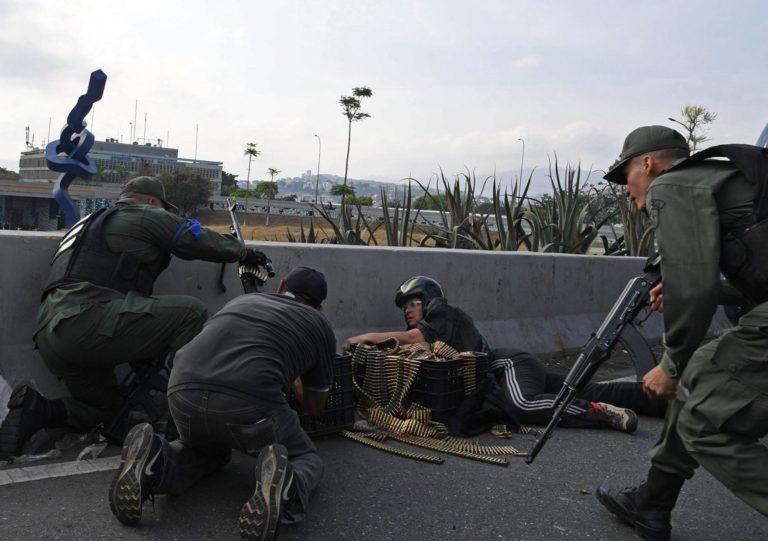 ONG venezolana contabilizó una persona muerta durante levantamiento cívico – militar