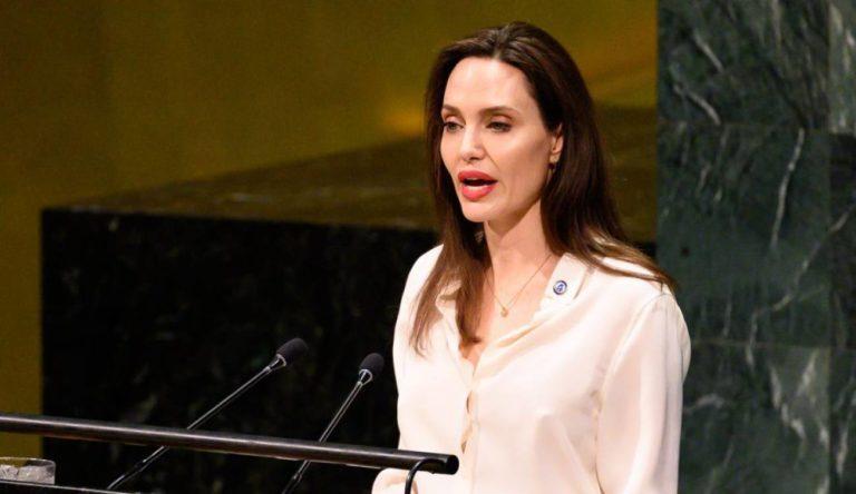 Angelina Jolie visita frontera colombo – venezolana