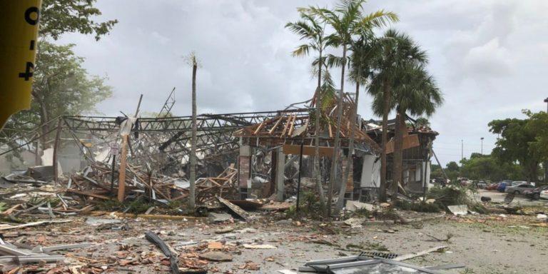 Explosión en Miami dejó más de veinte heridos
