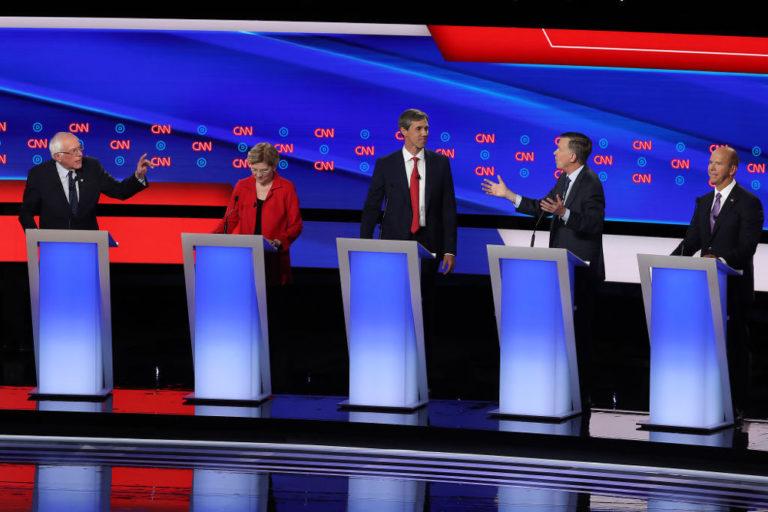 Temas del debate: Salud, inmigración, armas y aranceles