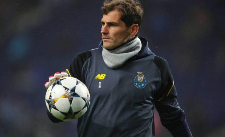 Casillas no dejará al Oporto ni al fútbol