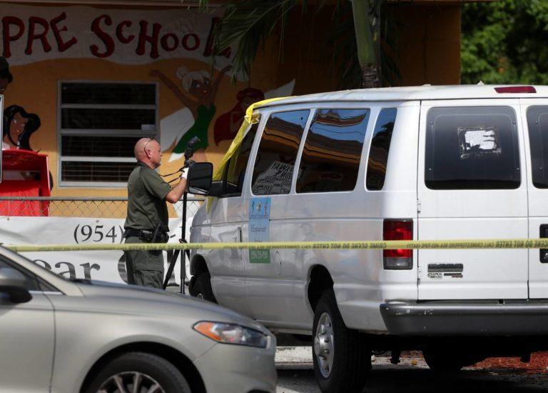 Pequeño muere en la camioneta de una guardería
