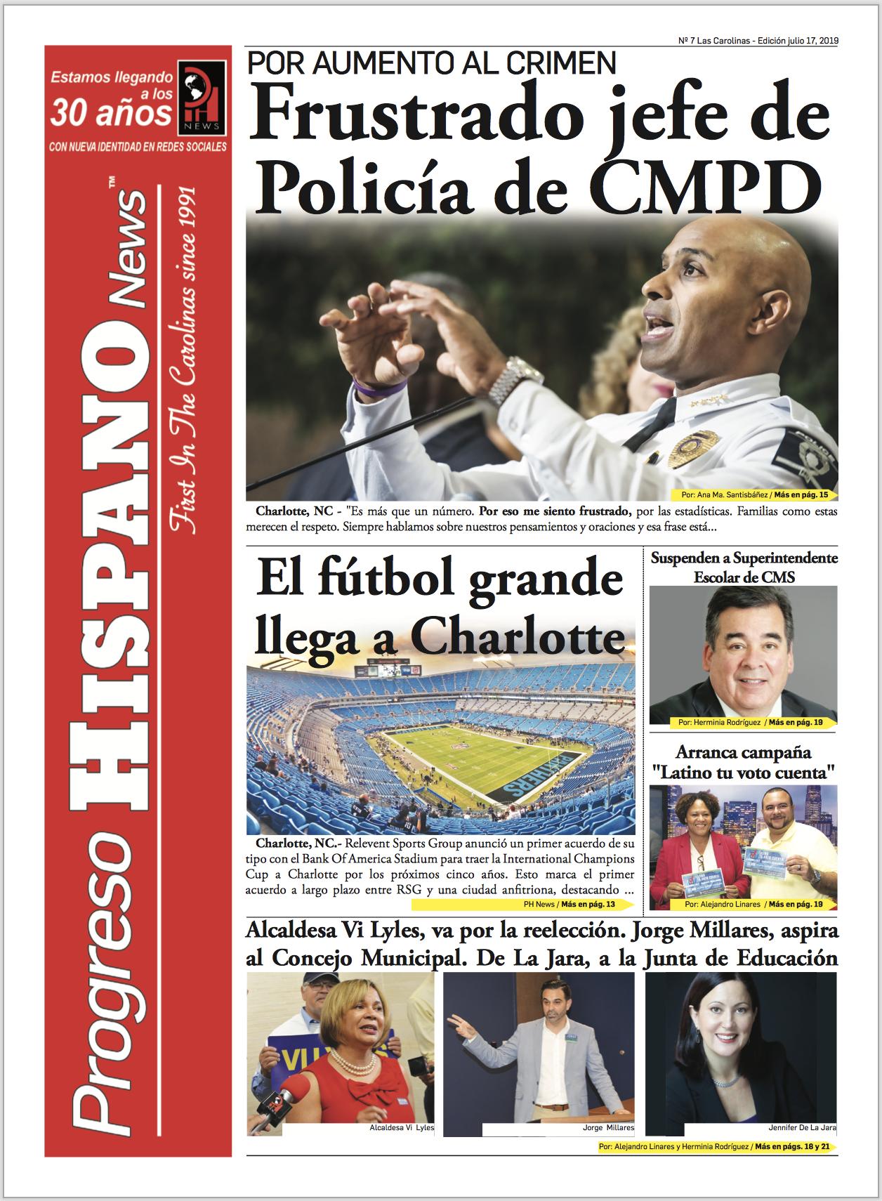 Progreso Hispano News Ed #7 2019