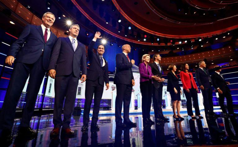 Debates y carrera hacia la presidencia