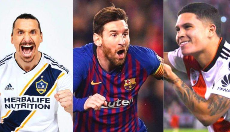 Messi, Quintero y Zlatan nominados al Puskas