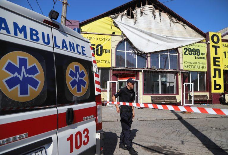 Incendio en Ucrania dejó ocho personas muertas