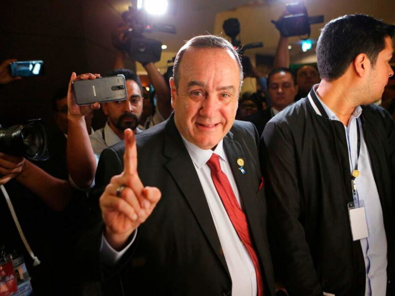 Alejandro Giammattei electo presidente de Guatemala