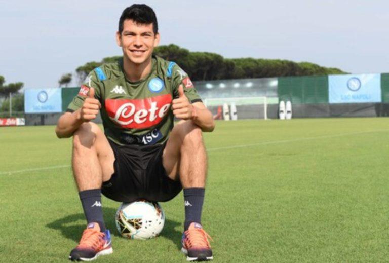 """Oficial: El """"Chucky"""" Lozano se incorporó al Napoli"""