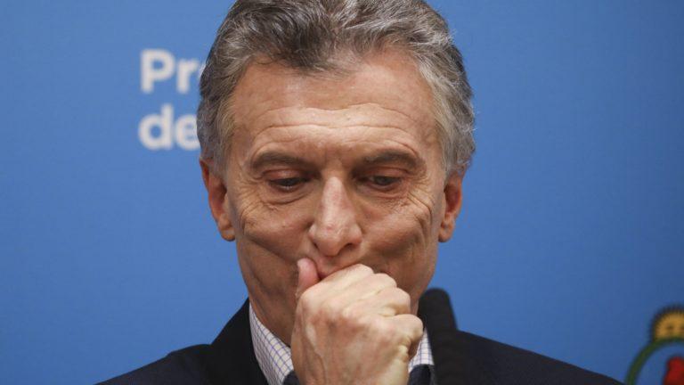 """Macri cambia el tono y pide """"perdón"""" a los argentinos"""