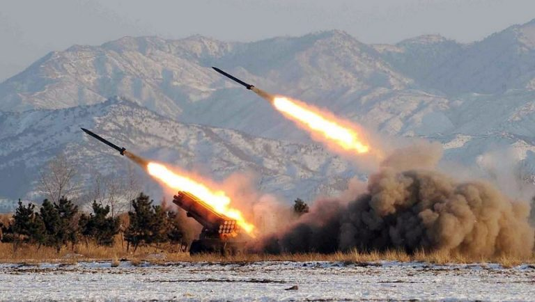 ¡Desafiante! Corea del Norte realizó prueba de misiles