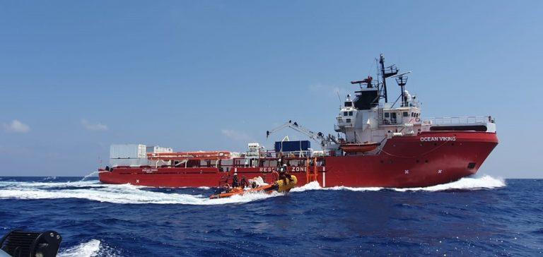 356 migrantes del Ocean Viking desembarcarán en Malta