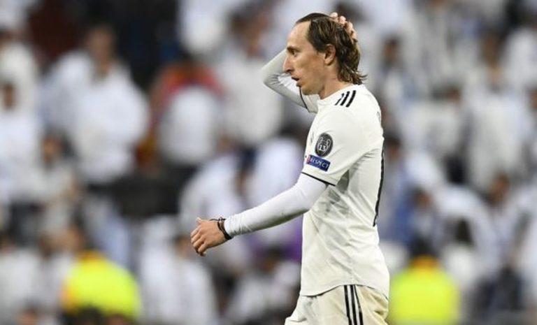 Luka Modric baja por lesión muscular
