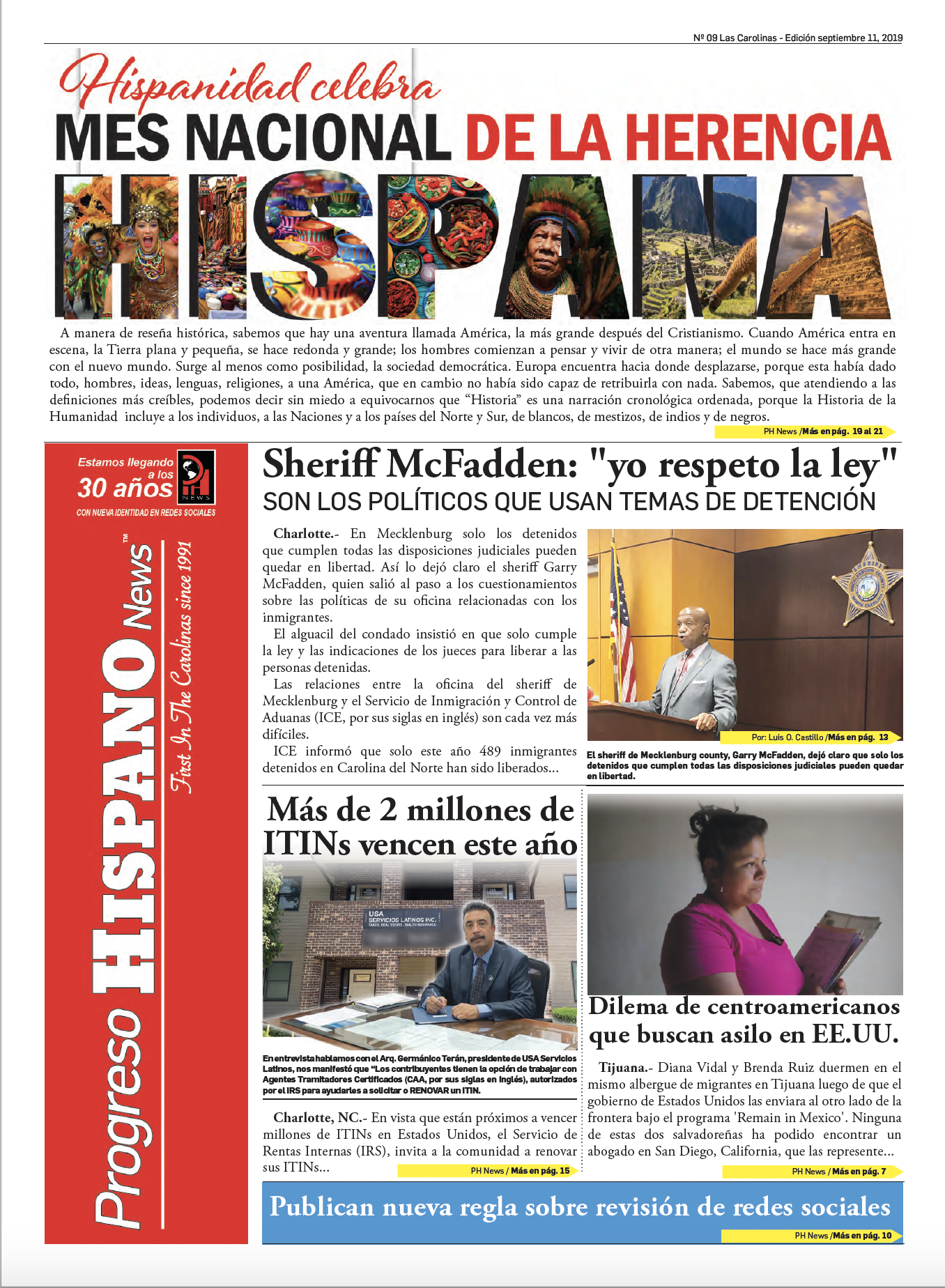 Progreso Hispano News Ed #9 2019